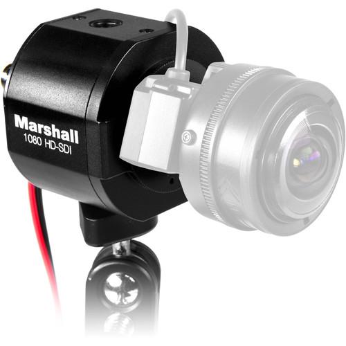 Marshall Electronics CV343-CS 2.5MP 3G-SDI/Composite Compact Progressive Camera (Power Pigtail)