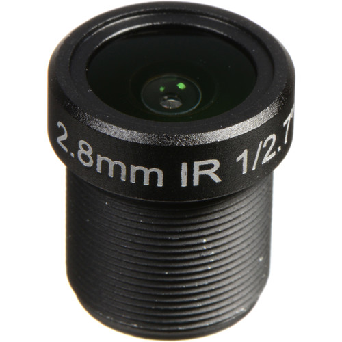 Marshall Electronics 2.8mm f/2.0 M12 3MP IR Lens for CV502-WPMB/WPM