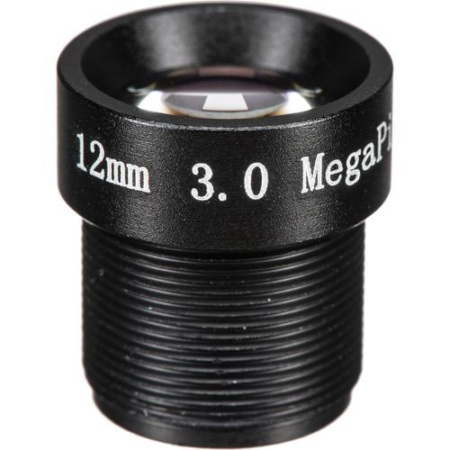 Marshall Electronics 12mm f/1.8 M12 3MP Lens for Select Marshall Cameras