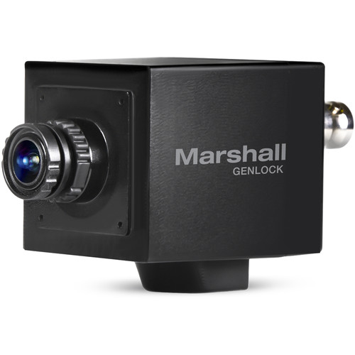 Marshall Electronics 2.5MP 3G-SDI/HDMI Compact Broadcast Camera with Interchangeable 3.7mm Lens