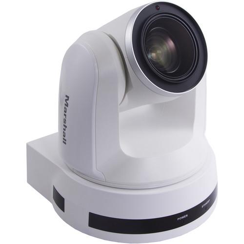 Marshall Electronics CV612HT-4K UHD HDBaseT HDMI PTZ Camera (White)