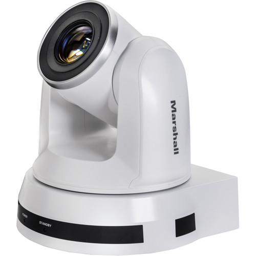 Marshall Electronics CV620-IP HD PTZ Camera (White)