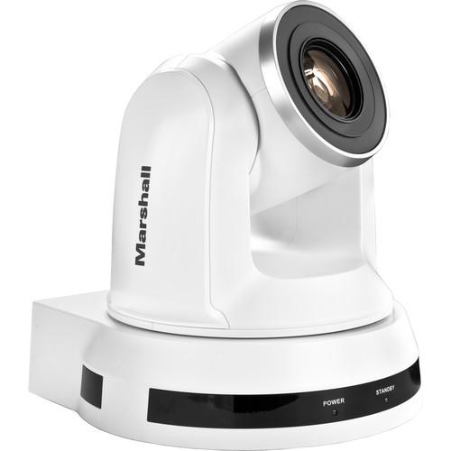 Marshall Electronics CV620-WH2 Broadcast Pro AV High-Definition PTZ Camera (White)
