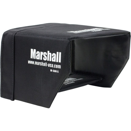 "Marshall Electronics Sun Hood for M-CT6 6.2"" Field Monitor"