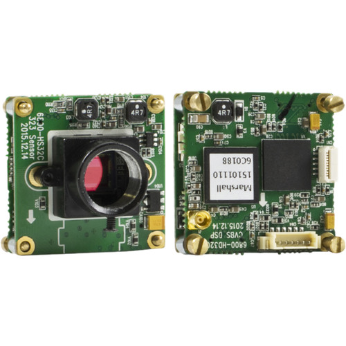 Marshall Electronics 2.5MP Full-HD Color Board Camera (60/50 fps)