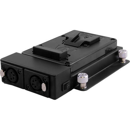 Marshall Electronics Vesa Mount Plate with Dual Outputs for V-Mount Battery