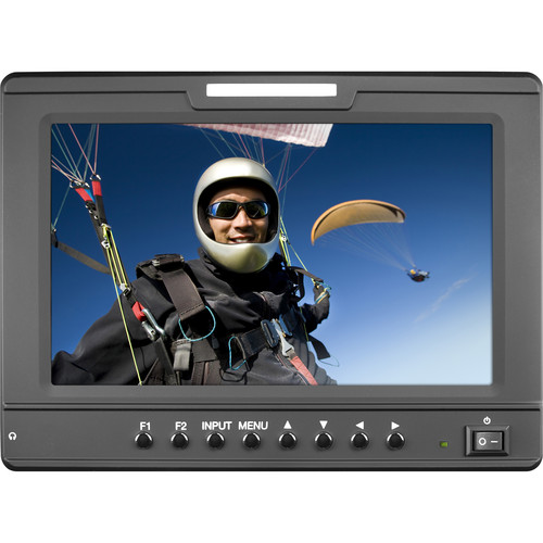 """Marshall Electronics 7"""" 1024 x 600 Camera-Top Monitor with Sony Battery Mount"""