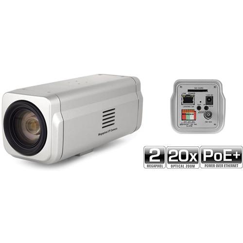Marshall Electronics VS-541-HDSDI 2MP True Day/Night IP Box Camera with 20x Optical Zoom Lens