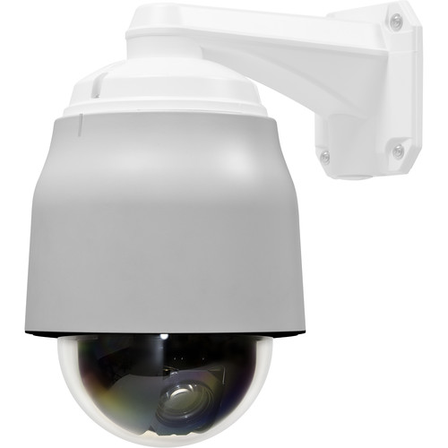 Marshall Electronics VS-571A-CVBS 2MP True Day/Night Vandal Proof IP Speed Dome Camera with Composite Video Output