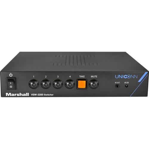 Marshall Electronics VSW-2200 4x1 Seamless 3G-SDI Switcher