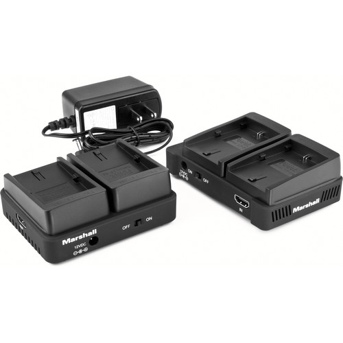 Marshall Electronics WP-1C Wireless HDMI Transmitter Receiver System (Dual LP-E6)