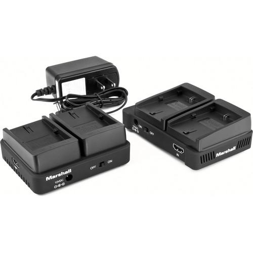 Marshall Electronics WP-1P Wireless HDMI Transmitter Receiver System (Single VW-VBG6)