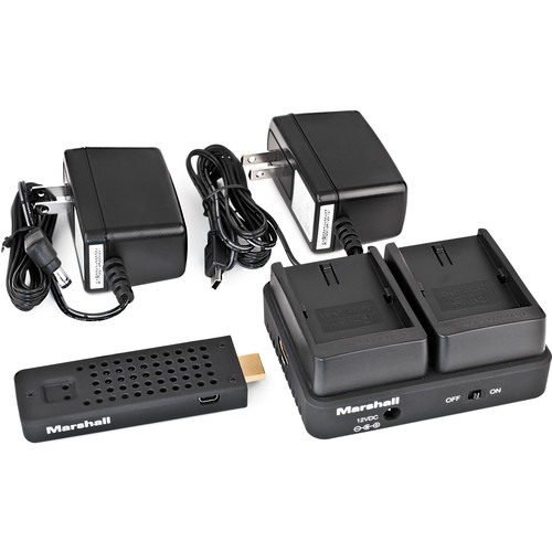 Marshall Electronics WP-2N Wireless HDMI Transmitter Receiver System (Dual EN-EL3)