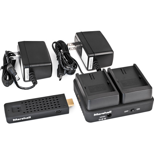 Marshall Electronics WP-2P Wireless HDMI Transmitter Receiver System (Single VW-VBG6)