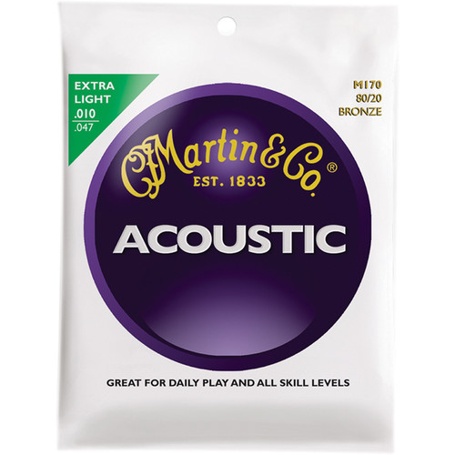 MARTIN Acoustic 80/20 Bronze Guitar Strings