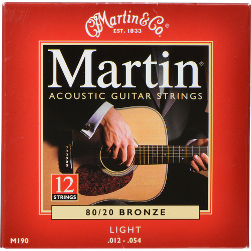 MARTIN Acoustic 80/20 Bronze Guitar Strings