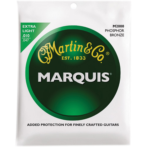 MARTIN Marquis Phosphor Bronze Acoustic Guitar Strings (10-47 )