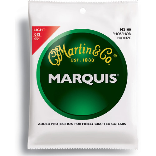 MARTIN Marquis Phosphor Bronze Acoustic Guitar Strings (12-54 )