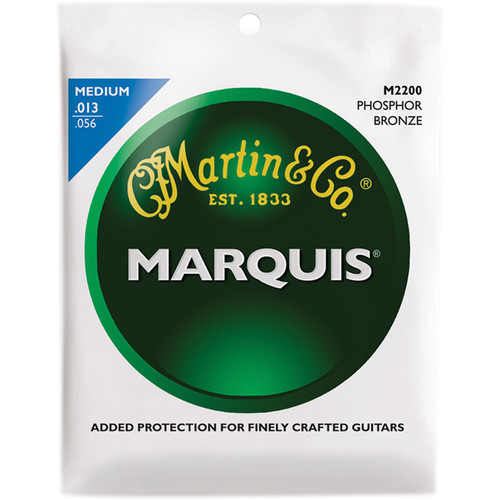MARTIN Marquis Phosphor Bronze Acoustic Guitar Strings (13-56 )