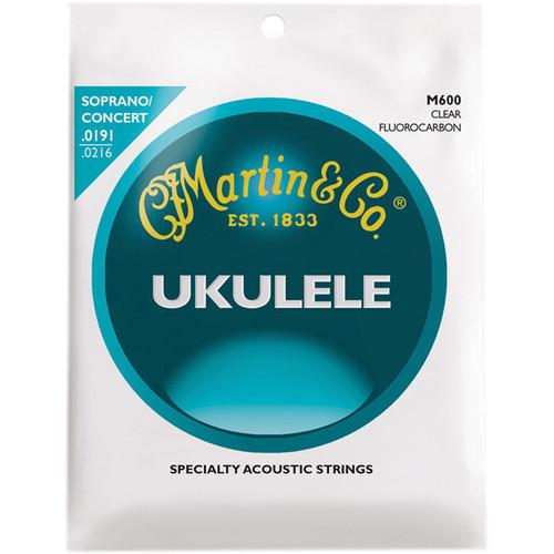 MARTIN Ukulele Clear Fluorocarbon Strings (Soprano)