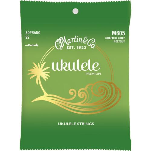 MARTIN M605 Ukulele Premium Soprano Ukulele Strings