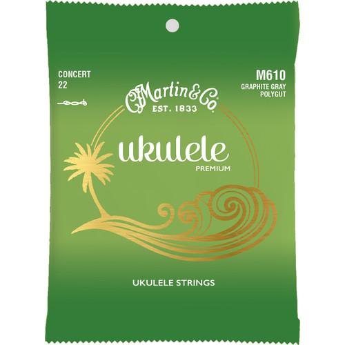 MARTIN M610 Ukulele Premium Concert Ukulele Strings