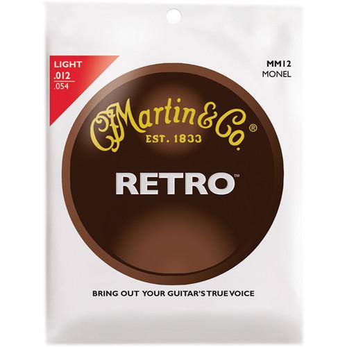 MARTIN Light Gauge Retro Monel Acoustic Guitar Strings