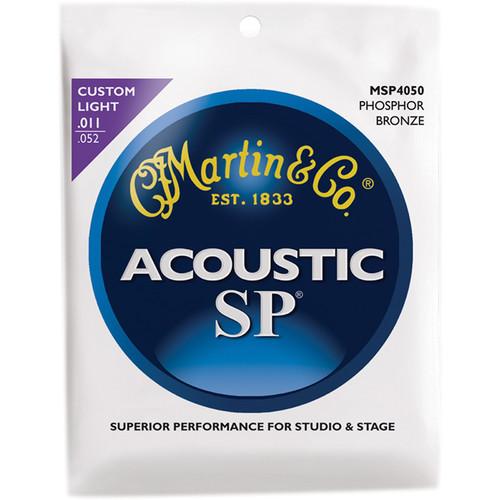 MARTIN Acoustic SP Phosphor Bronze Guitar Strings (11-52 Gauge)