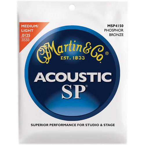 MARTIN Acoustic SP Phosphor Bronze Guitar Strings (12.5-55 Gauge)