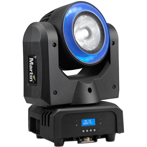 Martin Professional Lighting Rush MH 10 Beam FX - Compact Moving Head with LED Ring