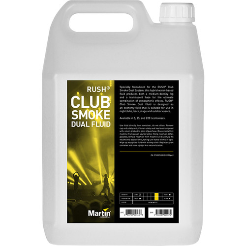 Martin Professional Lighting RUSH Club Smoke Dual Fluid (4 x 5L)