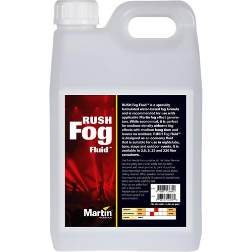 Martin Professional Lighting RUSH Fog Fluid (4 x 2.5L)