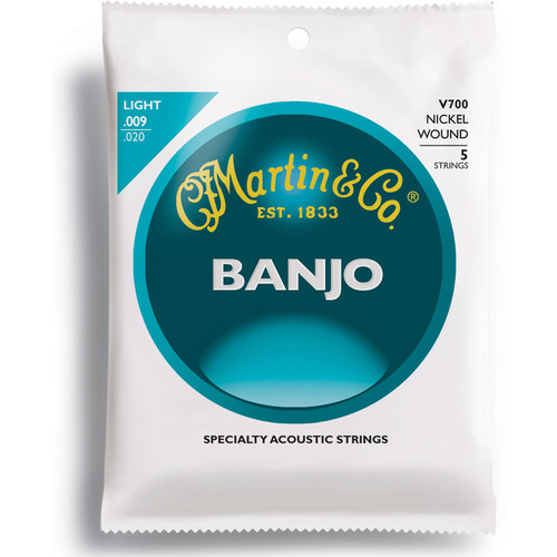 MARTIN Vega Nickel Wound Banjo Strings (Light Gauge)