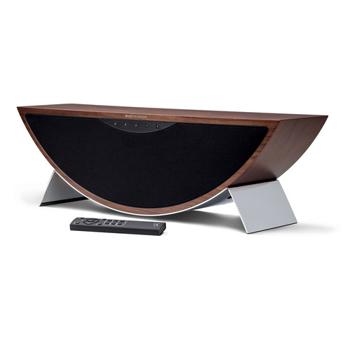 MartinLogan Crescendo Wireless Bluetooth Speaker (Walnut)