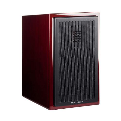 MartinLogan Motion 15 2-Way Bookshelf Speaker (Single, Gloss Black Cherrywood)