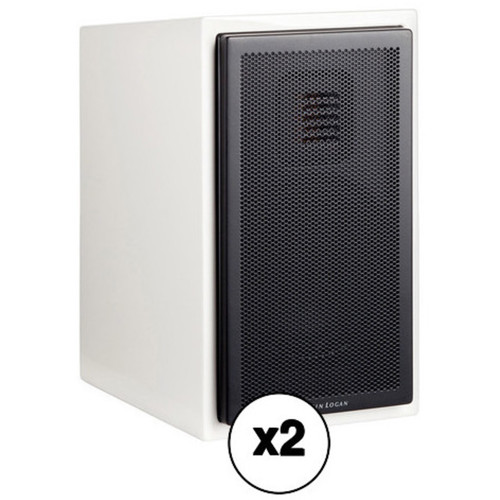 MartinLogan Motion 15 2-Way Bookshelf Speaker Pair Kit (Gloss White)