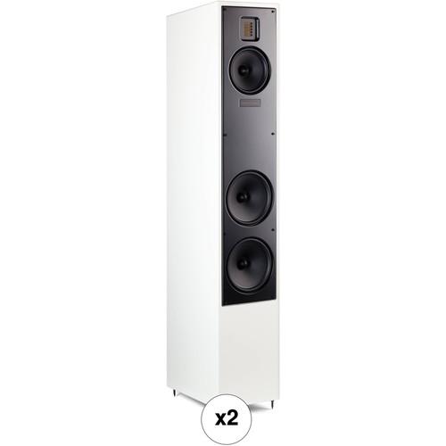MartinLogan Motion 40 Floorstanding Speaker Pair Kit (Gloss White)