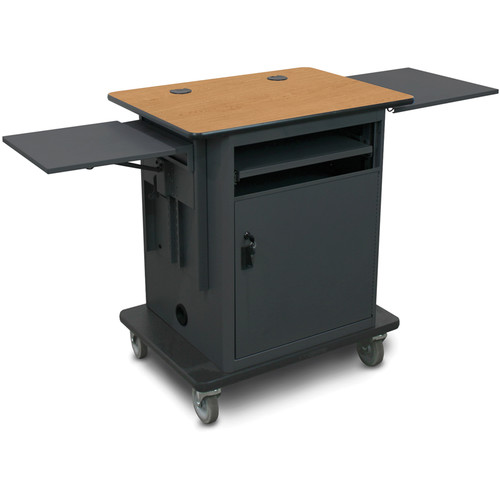 Marvel Instructor Series Presentation Cart Gold Version (Oak, Dark)