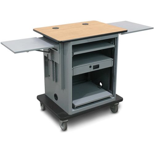 Marvel Instructor Series Presentation Cart Silver Version (Maple, Silver)