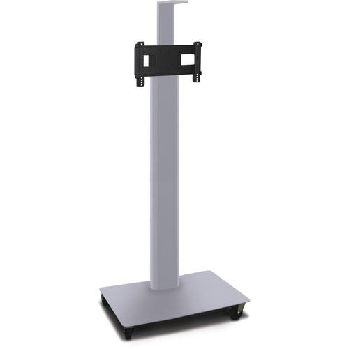 "Marvel Vizion 65"" High TV/Monitor Stand/Camera Shelf for 26-32"" TV Screens (Matte Silver)"