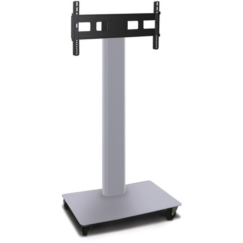 "Marvel Vizion 55"" High TV/Monitor Stand For 35-55"" TV Screens (Matte Silver)"