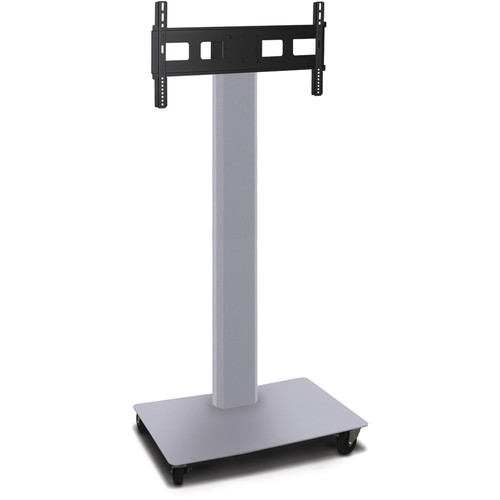 "Marvel Vizion 65"" High TV/Monitor Stand For 35-55"" TV Screens (Matte Silver)"
