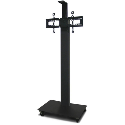"""Marvel 80"""" Vizion TV/Monitor Stand and Mount for a 35 to 55"""" TV with Camera Shelf (Charcoal Gray)"""