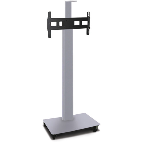 "Marvel 80"" Vizion Mobile Stand for 35-55"" TV or Monitor with a Camera Shelf"