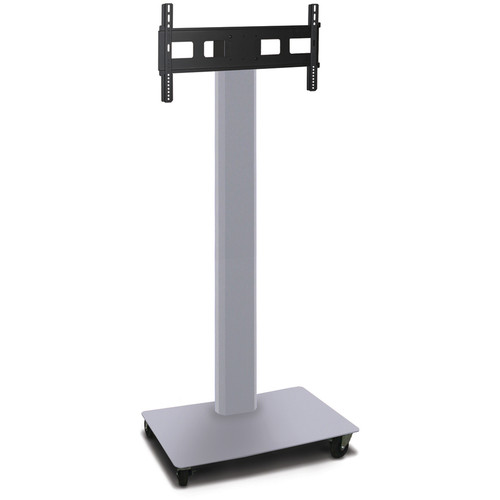 "Marvel Vizion 80"" High TV/Monitor Stand For 35-55"" TV Screens (Matte Silver)"