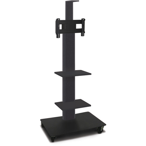 Marvel Mobile Flat Panel Monitor Stand w/ Two Shelves & Camera Shelf (PowderCoated)