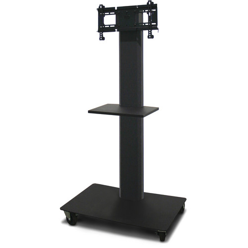 """Marvel 55"""" Vizion TV/Monitor Stand and Mount for a 26 to 32"""" TV and One Accessory Shelf (Charcoal Gray)"""
