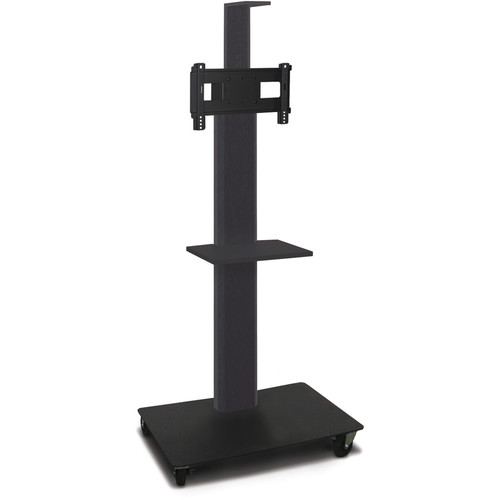 "Marvel 55"" High Mobile Stand for 26-32"" Flat Panel Monitor (Powder Coated, Camera Shelf)"