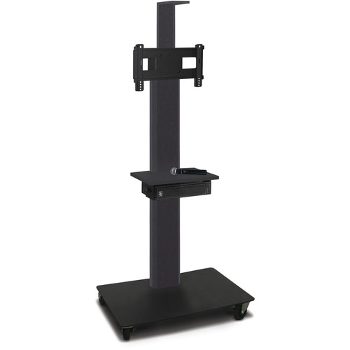"Marvel 55"" High Mobile Stand w/Sound System for 26-32"" Flat Panel Monitor (Powder Coated, Accessory, Cam Shelf)"