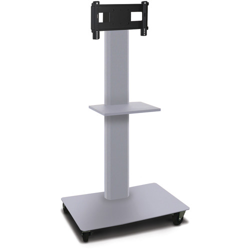 "Marvel 55"" High Mobile Stand for 26-32"" Flat Panel Monitor (Silver)"
